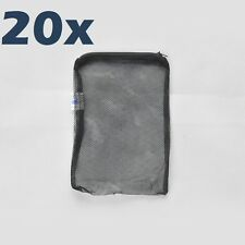 """20 pcs Filter Media Mesh Bags 8"""" x 5.5"""" Zipper Reusable aquarium fish tank pond"""