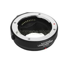 Auto Focus AF Adapter Four Thirds lens to Olympus Panasonic Micro 4/3 MMF-1 MMF2