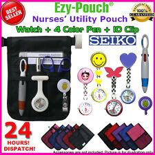 High Quality Ezy-Pouch Brand Nurses Pouch + Watch + 2X Battery + Pen & ID Clip