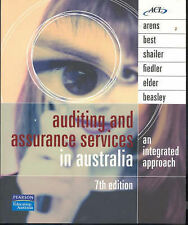 Auditing and Assurance Services in Australia: An Integrated Approach by Arens A…