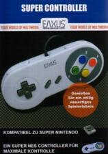 Nintendo SNES Super Nintendo NES Controller Classic Eaxus Neuwertig