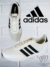 Adidas Men's Trainers V Racer 2.0 White Casual Sneakers Size 9 Uk / 43 Eur