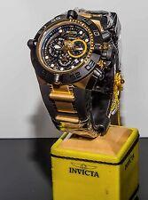 Invicta Men's Subaqua Noma IV SWISS MADE 18K Gold Plated Chrono S.S Strap Watch