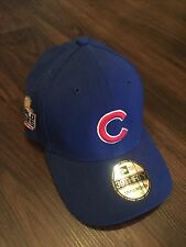 CHICAGO CUBS 2016 WORLD SERIES 39THIRTY SMALL-MEDIUM CLASSIC FITTED HAT NEW NWT