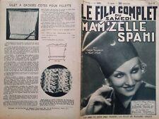 """LE FILM COMPLET 1935 N 1652 """" MAM'ZELLE SPAHI avec NOËL-NOËL et COLETTE DARFEUIL"""