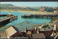 Yorkshire Postcard - Harbour From Castle Hill, Scarborough   RT728