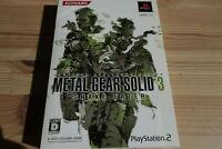 PS2 Playstation2 Metal Gear Solid 3 Snake Eater SLPM-74257 game soft KONAMI