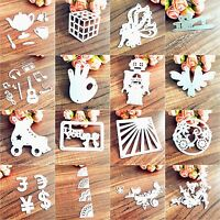 Metal Cutting Dies Stencil DIY Scrapbooking Album Paper Card Embossing Craft DIY