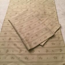 Ralph Lauren CECILIA/VILLANDRY STRIPE Sateen Floral Standard Pillowcase Set (2)