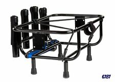 Jet Ski Fishing Rack 4 Rod Holders with Gas Plates - Universal