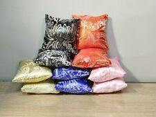 Two brocade pillows small size for doll 1/6, 1/4 scale, for doll furniture
