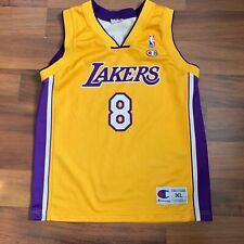 Kobe Bryant Los Angeles Lakers NBA Champion Euro Cut Jersey Sz Youth XL 18-20