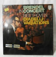 "BRENDEL IN CONCERT (BEETHOVEN) ""Diabelli Variations"" 1976 (Philips/9500381) EX!"
