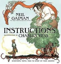 Instructions by Gaiman, Neil -Hcover