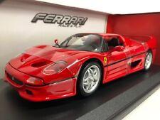 Ferrari F50. Red . Bburago . 1/18 Scale. Boxed .