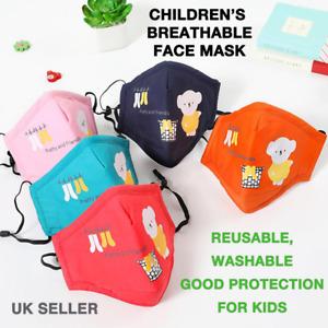 Koala bears: Children's Reusable Cotton Face Mask - Good Protection for Kids