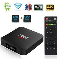 T95 S2 TV Box Android 2.4GHz WiFi 2G+16G S905W Quad Core 4K Smart Media Player