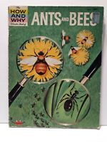 The How And Why Wonder Book Of Ants And Bees Vintage 1962