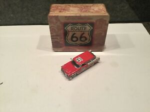 RARE Franklin Mint Precision Models Route 66 1956 Chevrolet Nomad 1/43 w/Tin