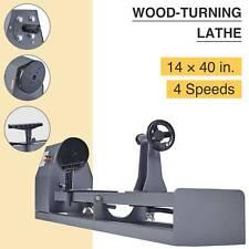 """1/2 Hp Woodturning Lathe 14"""" x 40"""" Variable Speed Stationary Benchtop Wood Lathe"""