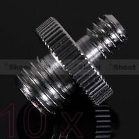 "⑩ 1/4-3/8"" Metal Adapter Screw for Flash Holder Bracket Trigger Tripod Ball Head"