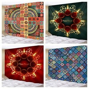 Bohemian Ethnic Style Pattern Tapestries Home Wall Decor Living Room Bedroom Art
