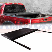 JDMSPEED Soft Roll Up Crew 5.7 FT Bed Tonneau Cover For 2009-2017 Dodge Ram 1500