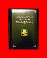 LK N€W GOLD EDGED UNABRIDGED WILLIAM SHAKESPEARE COURAGE BOOKS FINE BINDING 1997