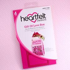 Heartfelt Creations Cut & Emboss Dies ~ Gift Of Love Box, HCD1 7163 ~ NIP