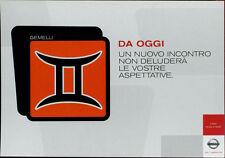 cartolina pubblicitaria PROMOCARD n.4030 NISSAN AUTOMOBILE MILANO