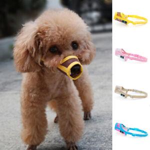 Pet Dog Anti-bite Dog Muzzle Mask Adjustable Mouth Grooming Anti Stop Bark Bite