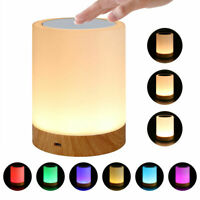 Portable USB LED Dimmable Table Lamp Baby Room Sleeping Aid Bedside Night Light