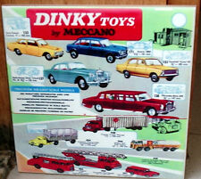DINKY TOYS 60's 70's By Meccano catalogue die cast Scale models CERAMIC  TILE