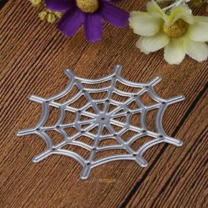 Spider Web Metal Cutting Dies Stencils DIY Scrapbook Album Paper Card Craft NEW