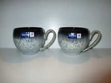 More details for denby halo 2 x small mugs new first quality excellent condition