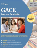 GACE Program Admission Study Guide: Exam Prep and Practice Test - BRAND NEW