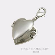 Authentic Pilgrim Silver Plated Heart Locket Pendant 444010