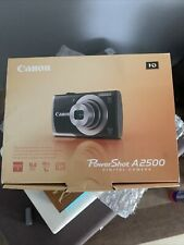 CANON PowerShot A2500 16.0 Mega Pixels 5X Optical Zoom Digital Camera - EXC COND