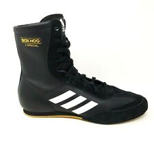 adidas Box Hog X Special Boxing Shoes Black White Gold Unisex AC7157 Mens Size 9