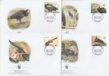 WWF 4 x FDC Lesotho 2004 - Vogels / Birds (254)