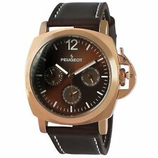 Peugeot Men's 'Rose Gold Multi-Function' Quartz Sport Watch 2056RBR