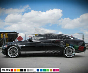 Sticker Decal Side Door Stripes for Jaguar XJ Vent Sport Super Car Sun Roof hood