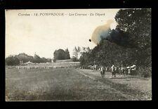 France Limousin POMPADOUR Race Course horses start of race 1930 PPC fault