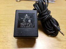 Vintage Atari 2600 Power Supply Cord Part No. C010472 AC Adaptor Cable Genuine