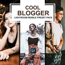 Cool Blogger ajustes preestablecidos, 7 Premium Lightroom móvil preestablecido