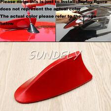 Red Car Radio FM/AM Signal Aerial Shark Fin Antenna For Vauxhall Audi Corsa