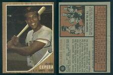 (45087) 1962 Topps 40 Orlando Cepeda Giants-EM