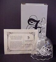 Fenton Crystal Bell Ohio Bicentennial Culture Limited to 700 MIB COA