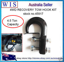 Tow Hook Kit w Blots,Metal Truck Tow Hook Recovery hook,4WD Recovery 4500Kg Load