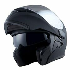 Motorcycle Helmet Dual Visor Flip Up Motorbike Modular Full Face Helmets DOT USA